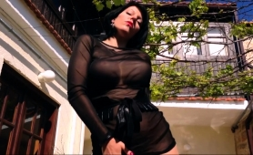 provocative-milf-in-pantyhose-exposes-her-curves-outside
