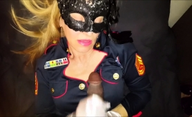 masked-blonde-cougar-in-uniform-blows-a-black-cock-in-pov