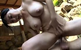 Voluptuous Asian Babe Enjoys A Deep Fucking In The Outdoors