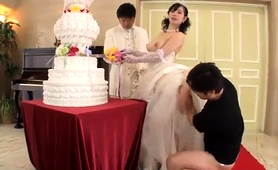 Buxom Oriental Wife In Sexy Lingerie Cuckolds Her Husband