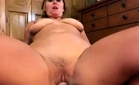 Bodacious Amateur Milf Works Her Tight Pussy On A Pov Dick